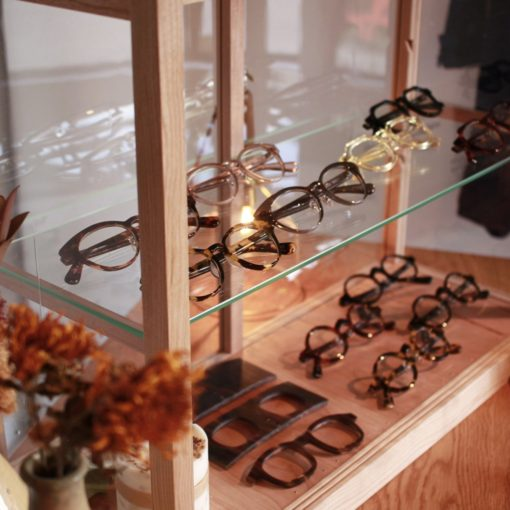 メガネロック展示